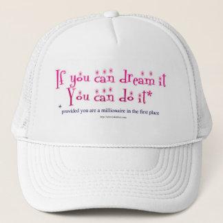 Dream It and Do It! Cap