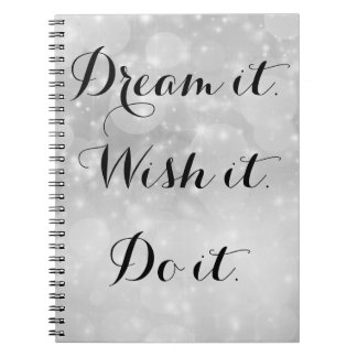 Dream it Photo notebook