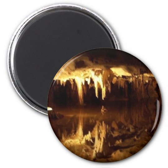 Dream Lake 6 Cm Round Magnet