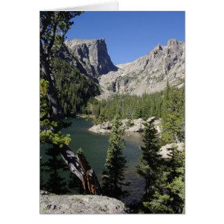 Dream Lake, Colorado Card