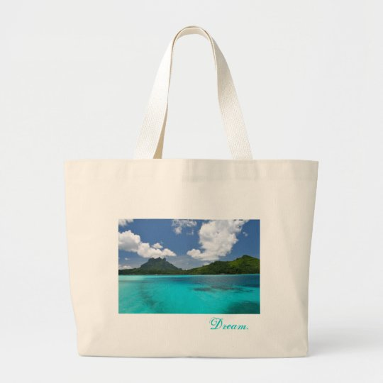 Dream. Large Tote Bag