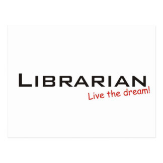Dream / Librarian Postcard