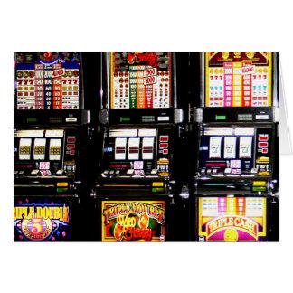 Dream Machines - Lucky Slot Machines Greeting Card