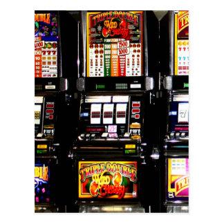 Dream Machines - Lucky Slot Machines Postcard