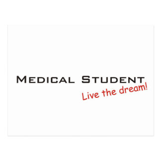 Dream / Medical Student Postcard