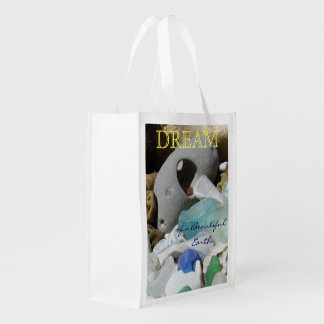 DREAM of a Beautiful Earth Reusable Grocery Bags