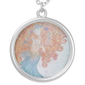 Dream of Mermaids Silver Plated Necklace