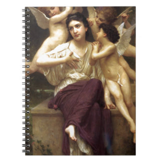 Dream of Spring by William-Adolphe Bouguereau Notebooks