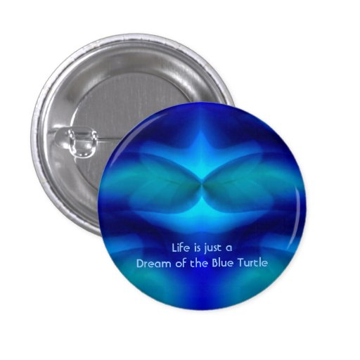 Dream of the Blue Turtle Pin