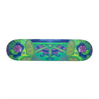 Dream of the full moon custom skateboard
