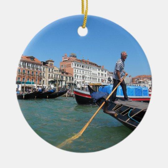 Dream of Venice Christmas Ornament