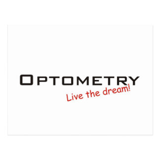 Dream / Optometry Postcard