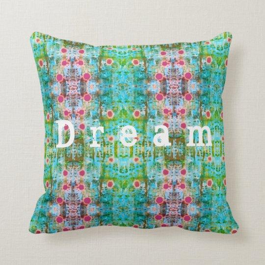 Dream pattern cushion