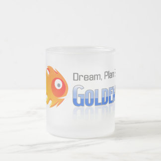 Dream, Plan & Dive © 296 ml  Frosted Glass Mug