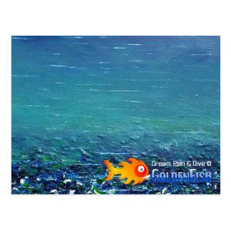 Dream, Plan & Dive © - Postcard