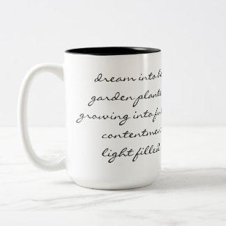 Dream Poem Two-Tone Mug