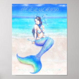 Dream ~ poster of mermaid ~ girl