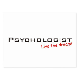 Dream / Psychologist Postcard