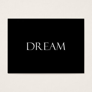 Inspirational quotes business cards business card printing zazzle uk dream quotes inspirational quote business card reheart Gallery
