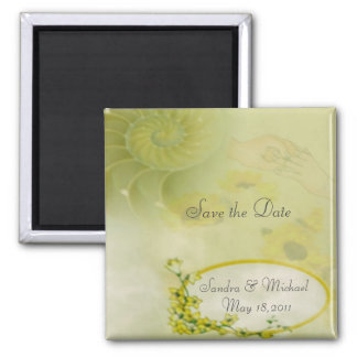 Dream Save the Date Refrigerator Magnet