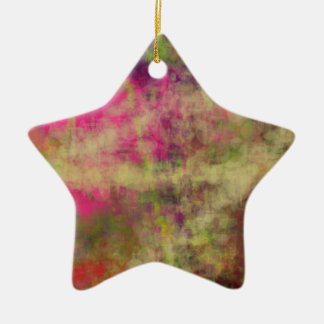 Dream Scope Color Abstract Art on GIFTS NavinJoshi Ceramic Star Decoration