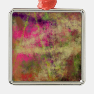Dream Scope Color Abstract Art on GIFTS NavinJoshi Silver-Colored Square Decoration