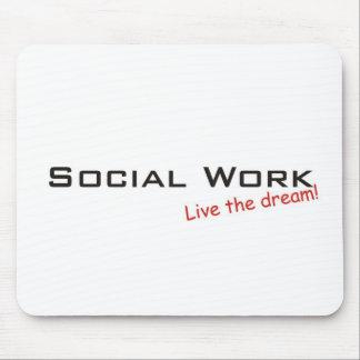 Dream / Social Work Mouse Mat
