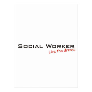 Dream / Social Worker Postcard