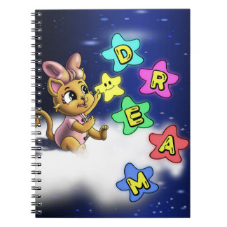 Dream Spiral Photo Notebook (80 Pages B&W)