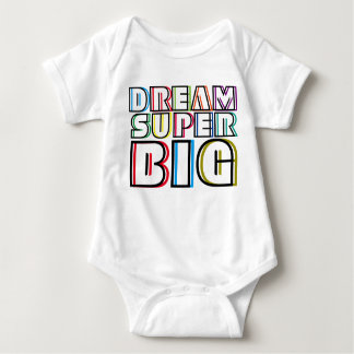 Dream Super Big Baby Bodysuit