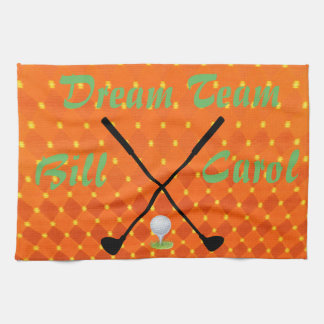 Dream Team Golf 2 Tea Towel