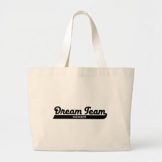 dream team large tote bag
