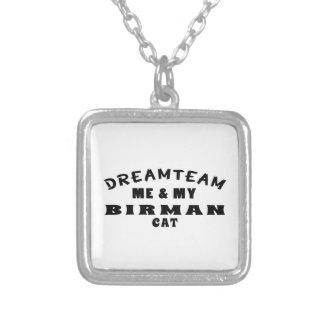 Dream Team Me And My Birman Cat Custom Jewelry
