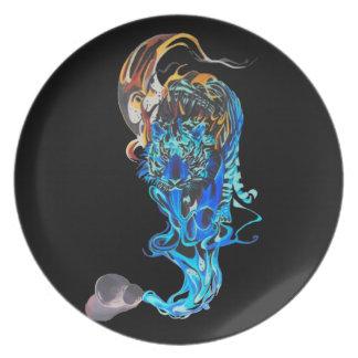 dream tiger plate