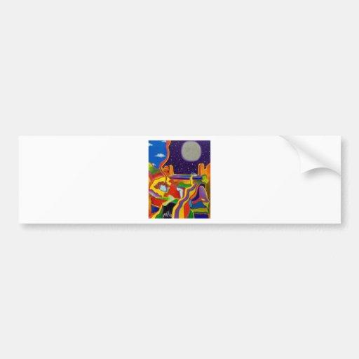Dream Tine 4 by Piliero Bumper Stickers