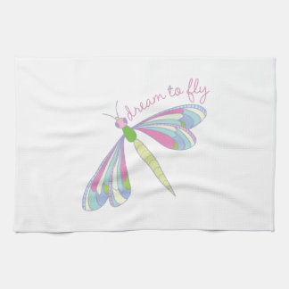Dream To Fly Tea Towel