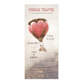 Dream Travel rack card