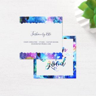 Dream. Try. Do Good. Square Business Card