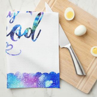 Dream. Try. Do Good. Tea Towel