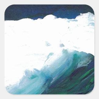 Dream Wave - CricketDiane Ocean Wave Art Square Sticker