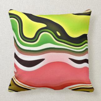 Dream Waves Throw Pillows