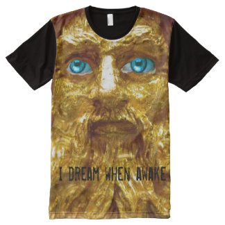 Dream when Awake Personalize All-Over Print T-Shirt
