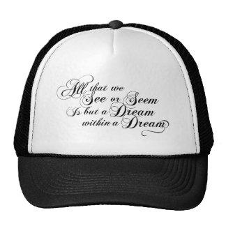 Dream Within A Dream Mesh Hats