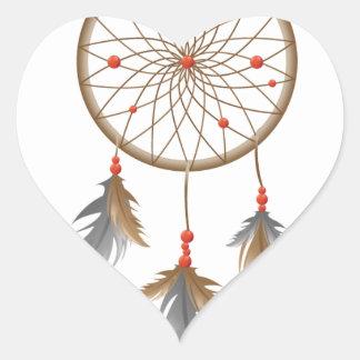 Dreamcatcher Heart Sticker