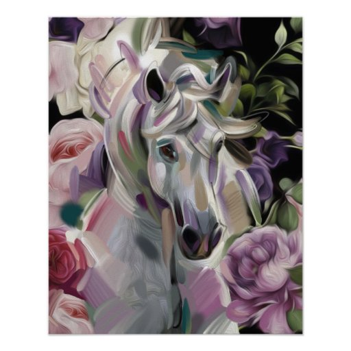 'Dreamcatcher' horse art print