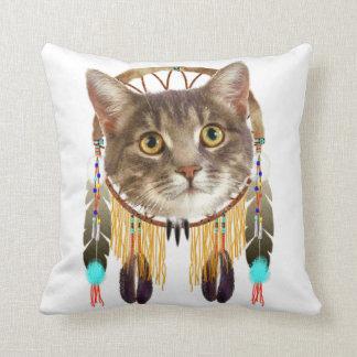 Dreamcatcher kitty cushion
