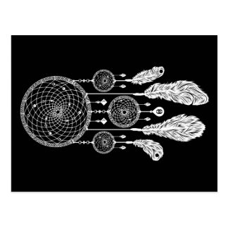 Dreamcatcher - Postcard (Black)