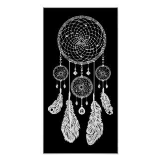 Dreamcatcher - Poster (Black)
