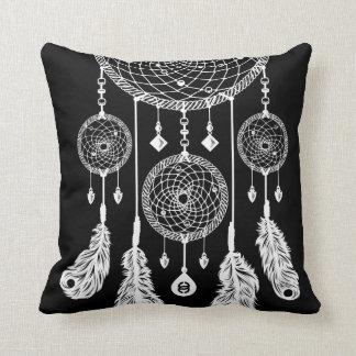 Dreamcatcher - Square Pillow (Black)
