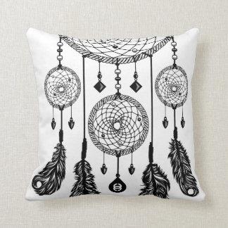 Dreamcatcher - Square Pillow (White)